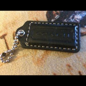 EUC-Coach Hang Tag, Patent Leather